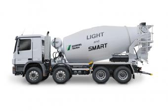 Concrete mixer truck Light Line C3 9m3 Stetter