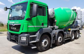 Concrete mixer truck Basic Line 9mc Stetter